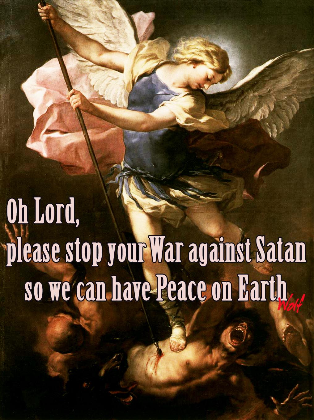 St-Michael fighting Satan